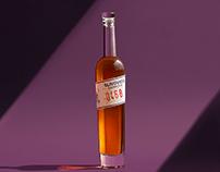 Slivovice barrique - distillate label design