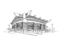 Stadiums of Italia'90