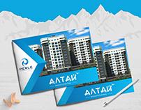 Design logo & brohure Altai