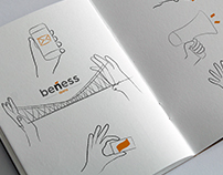 Sketch for a web design