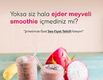 Dragon Fruit Smoothie CoolGrey web Ad Campaign