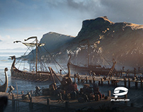 Vikings: War of Clans / Concept art and Matte Paintings