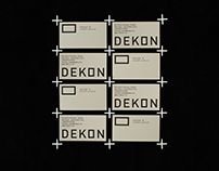 Dekon Design & Construction, Identity&Web