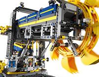 Lego Vehicles - CGI & Retouching