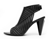 United Nude / silicone print high heel shoe concept