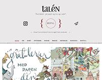 Elisabeth Talén / Webdesign