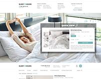 Adaptive online store of bed linen