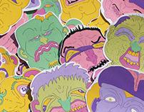 Test Print Stickers