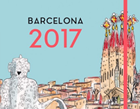 DIARY: BARCELONA 2017