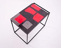 Unique concrete tabletops