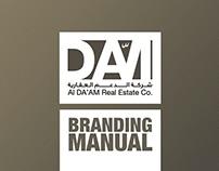 AL DA'AM Real Estate Co. Branding