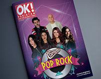 Magazine Design of Cornetto Pop Rock for OK Pakistan!