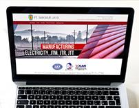 Web Design for PT Makmur Jaya Surabaya