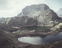 Lacs Roberts - Alpes