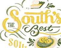 Southern Living Magazine Lettering