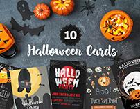 10 Free Halloween Cards