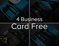 4 Business Card Free