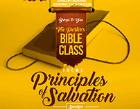 the porters Bible class design