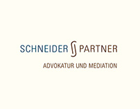 Corporate Identity Logo Schneider + Partner