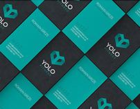YOLO Fitness Branding