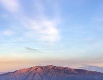 Mountains of Orta Lake