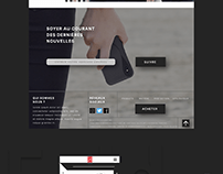 Landing Page, Fold