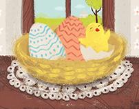 Little chicks calendar (Avramovic)