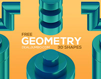 Free Geometry 3D Shapes