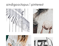 Indigo Octopus | Pinterest Promo