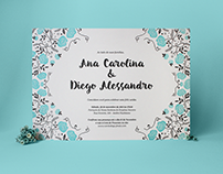 Carol & Diego | Wedding Invitation