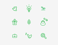 Icon Set for Leader-Groups