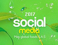 Social Media - Mas global foods