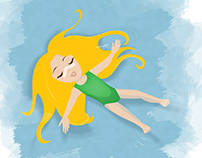 Tilly Travels Illustration