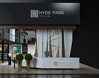 Hyde Park booth.