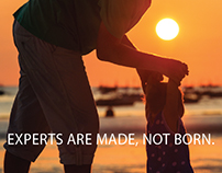 Nikon - Experts Are Made, Not Born.
