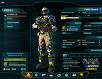 PlanetSide 2 UI - Game Systems