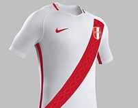 Nike Fantasy Kit PERU 2017 - Home Kit