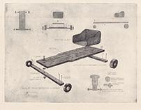 Childhood experience Bearing cart - Csapágyszekér