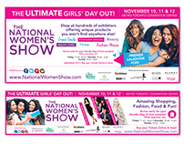 National Women's Show - Print Ads