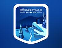Böhmerwald badges