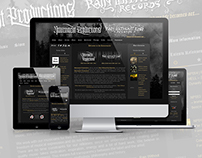 NATURMACHT PRODUCTIONS website design