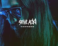Steve Aoki x Hawkers Landing Page