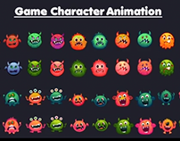 Monster Game Character Animation
