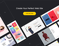 FLINTO – eCommerce PSD Template