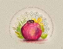 Rosh Hashana greeting card