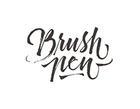 Brush Pen Letters