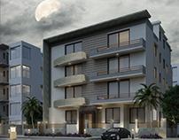 exterior villa  new cairo