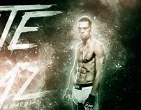 Nate Diaz - UFC - Smoke Concept