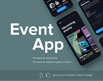 Product design for Event App