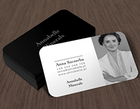 Annabelle Minerals - business card